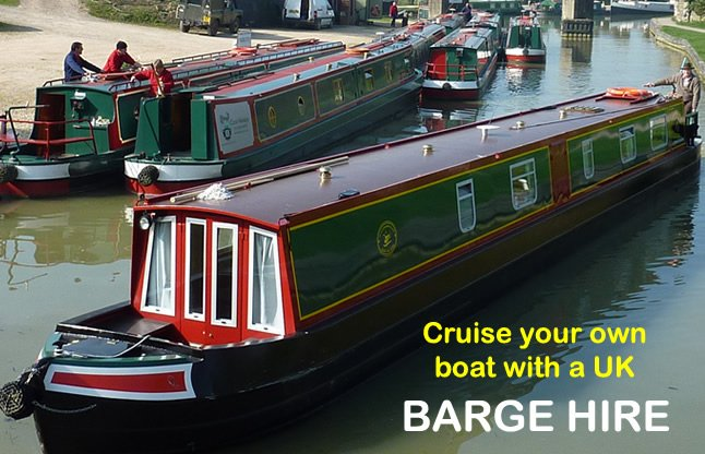Cruise your own boat with a UK Barge Hire