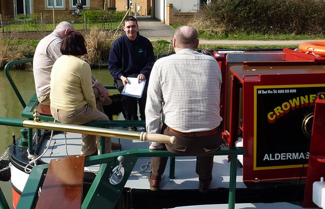 Choose your barge from a variety of different locations thnroughout the county